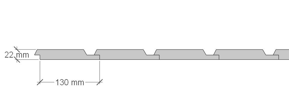 Profilpanel plan - 600