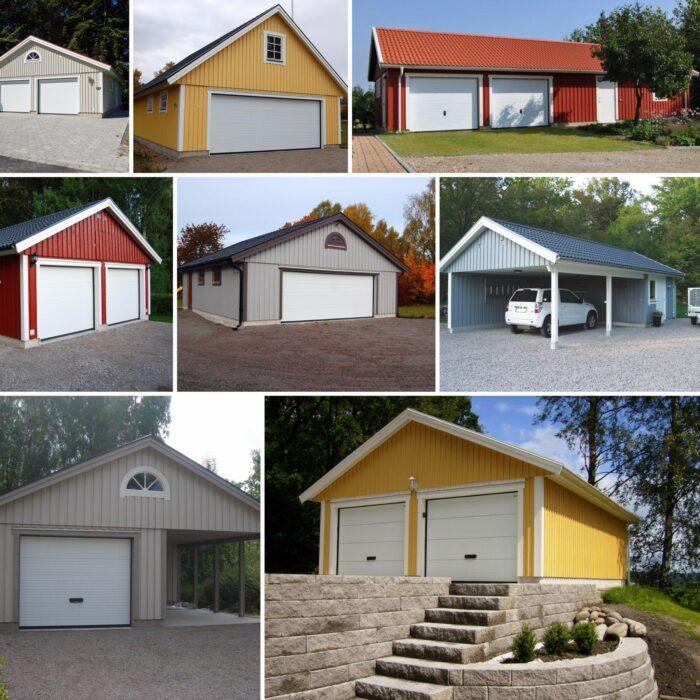 Bygga garage från Björklidens
